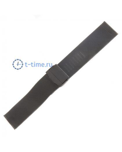 24 мм браслет миланское плетение 1.7 Black