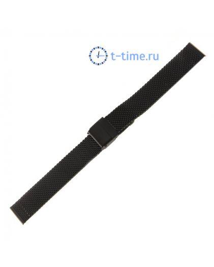 16 мм браслет миланское плетение 2.4 Black