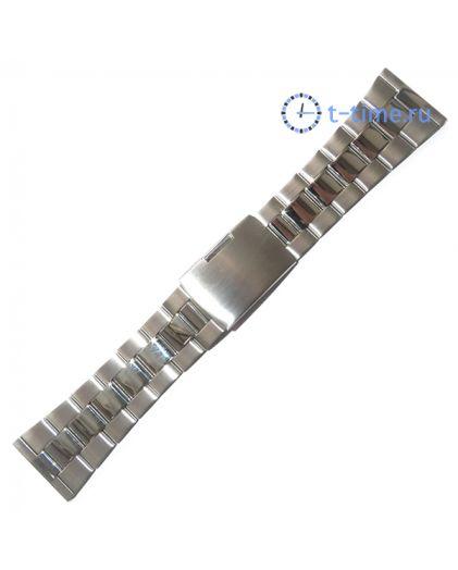 26мм хром браслет INOX Plus v-104-26s