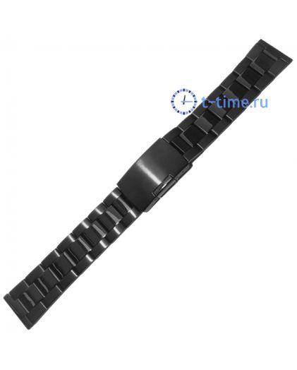 20мм чер браслет INOX Plus N-411-20Black