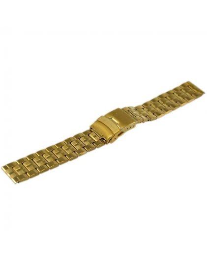 20 мм желтый шлифованный браслет