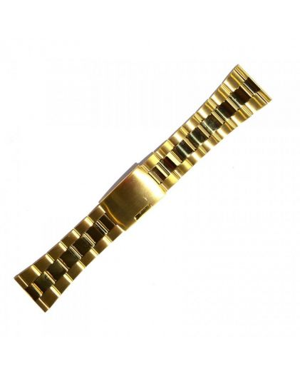20мм хром браслет INOX Plus v-104-20g
