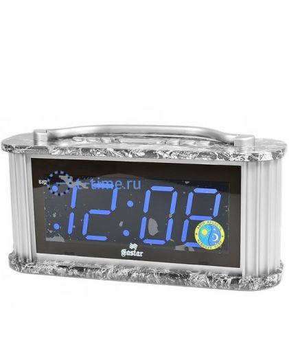 Часы сетевые GASTAR SP 3320 Blue Будильник