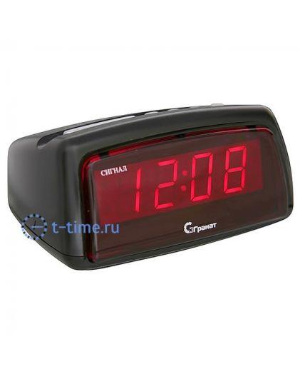 Часы сетевые Гранат C-1222(Ч)-Крас