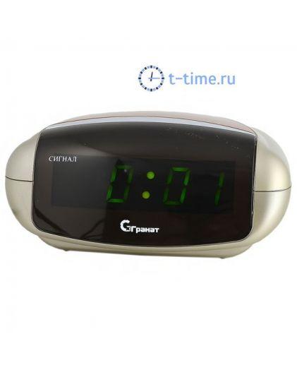 Часы сетевые Гранат C-0616-Зел