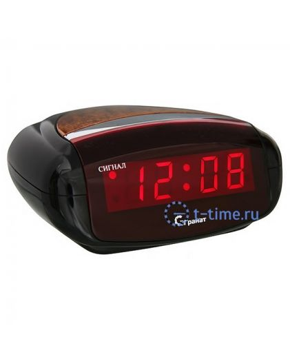 Часы сетевые Гранат C-0616-Крас