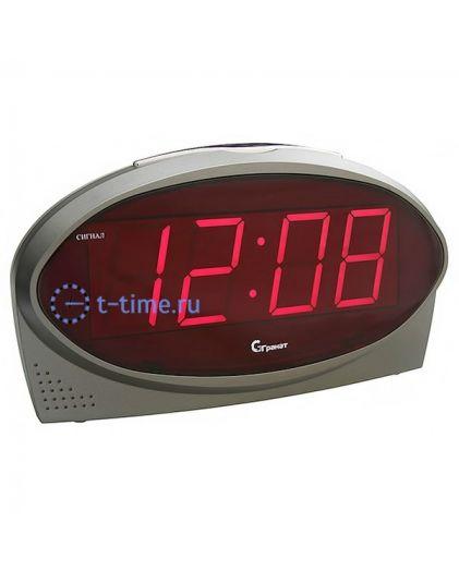 Часы сетевые Гранат C-1232-Крас