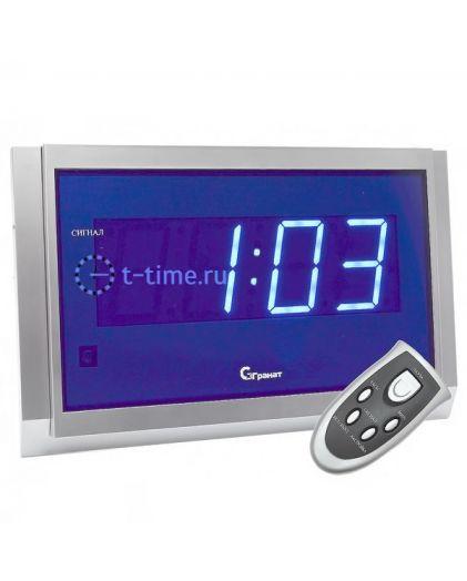 Часы сетевые ГРАНАТ C-2502-Син