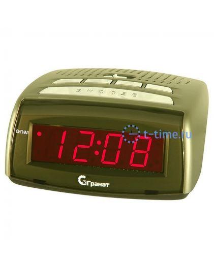 Часы сетевые ГРАНАТ C-0720-Крас