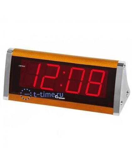 Часы сетевые Гранат C-1812-Крас