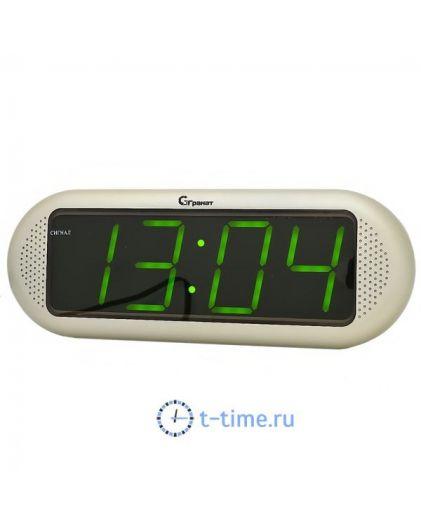 Часы сетевые Гранат C-1816-Зел