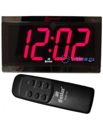 Часы сетевые GASTAR SP 3340R Будильник-настенные
