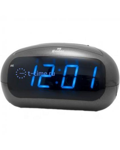 Часы сетевые GASTAR SP 3610 blue Будильник