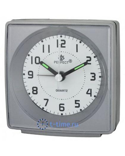 Будильник Perfect А051В1-06 серый