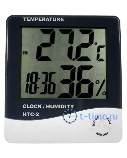 Часы барометр с термометром HTC-2