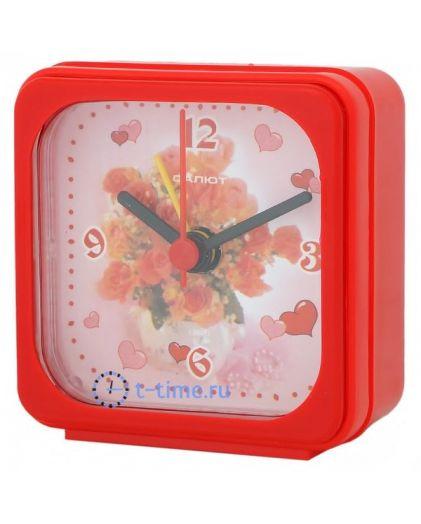 Салют 3Б-А1-554 валентинка будильник