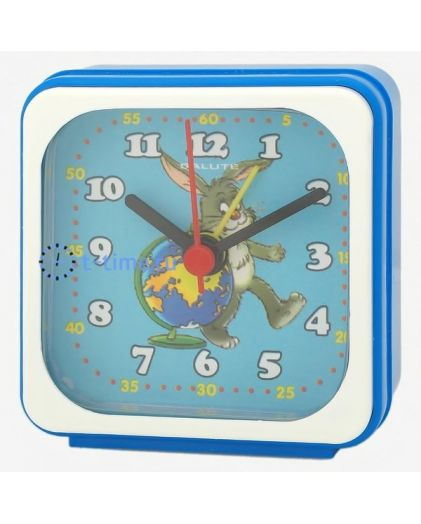 Салют 3Б-А4.1-506 заяц с глобусом будильник