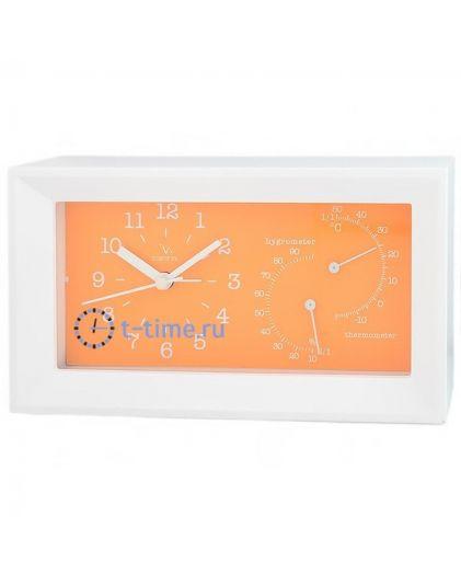Вега 6714 оранж с термометром и гигрометром