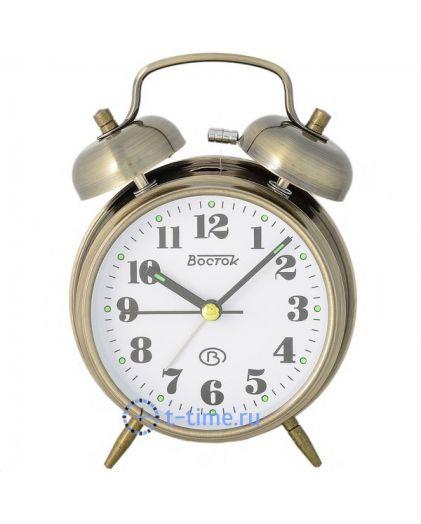 ВОСТОК K 823-6 будильник кварцевый