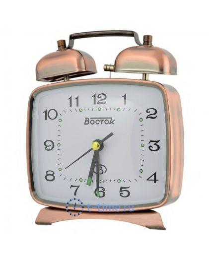 ВОСТОК K 824-10 будильник кварцевый