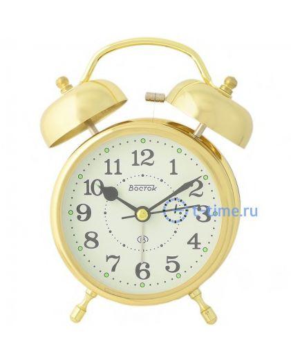 ВОСТОК K 896-5 будильник кварцевый
