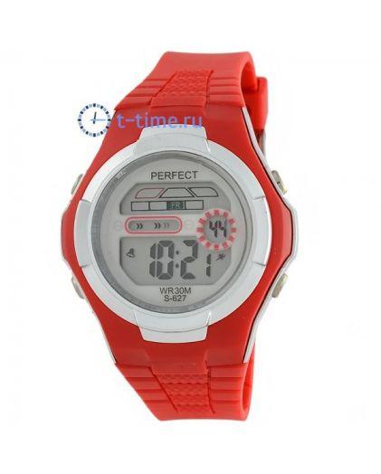 Часы PERFECT 627 крас LCD sport