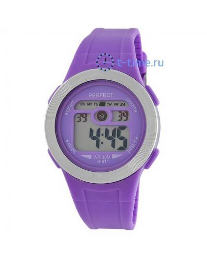 Часы PERFECT 611 син LCD sport
