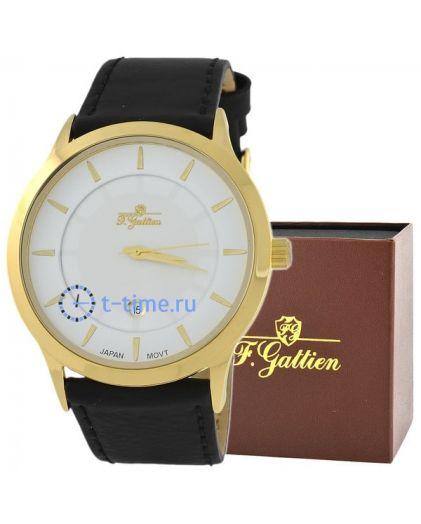 F.GATTIEN 09897-1 рем. корп-желт,циф-бел,рем