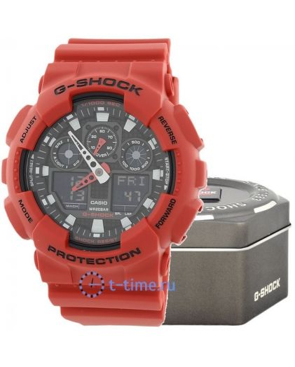Часы CASIO G-SHOCK GA-100B-4A