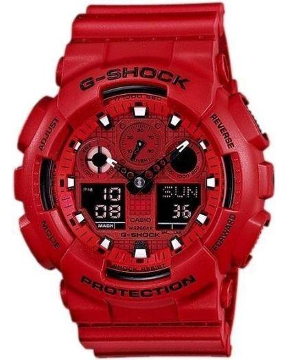 Часы CASIO G-SHOCK GA-100C-4A