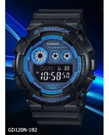 Часы CASIO G-SHOCK GD-120N-1B2