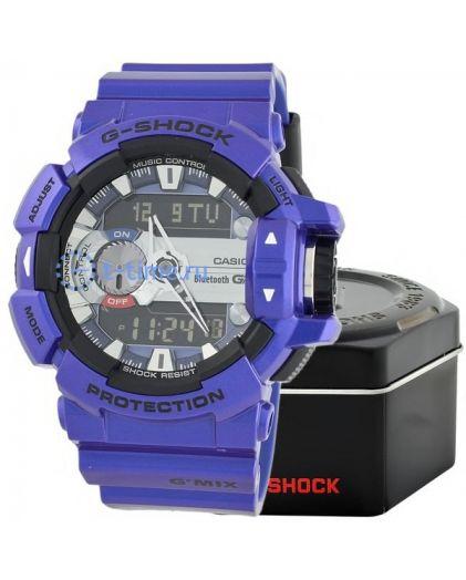 CASIO G-SHOCK GBA-400-2A bluetooth