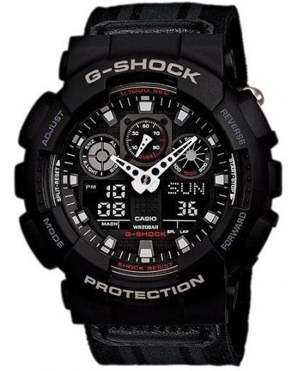 Часы CASIO G-SHOCK GA-100MC-1A
