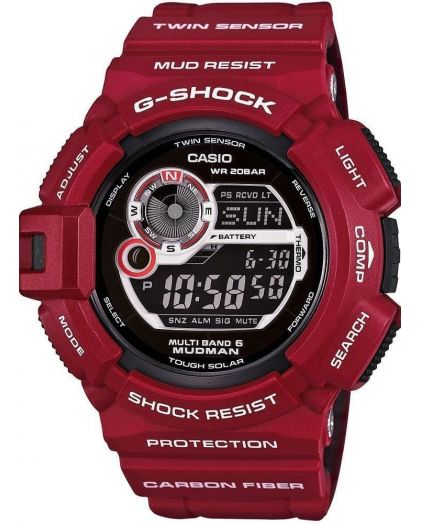 Часы CASIO G-SHOCK G-9300RD-4E