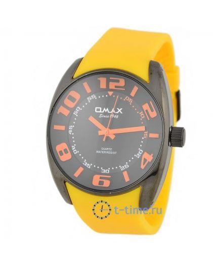 OMAX DC05-black чер с оранж-циф, рем желт