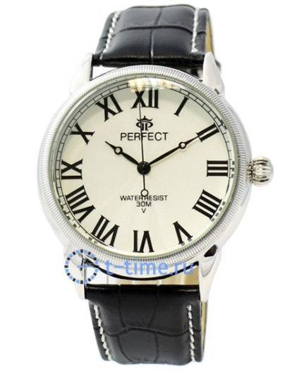 Часы PERFECT 169 C корп-хр,циф-бел
