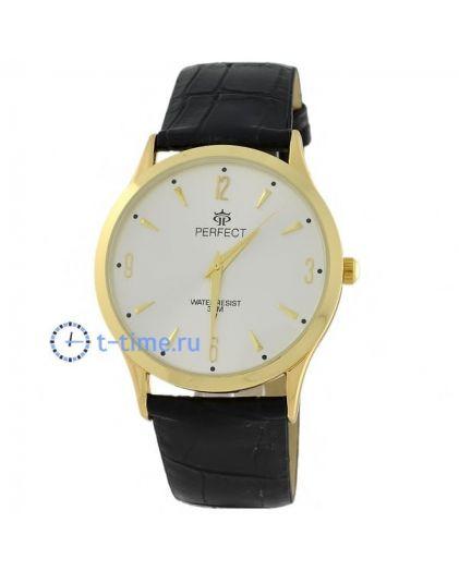 Часы PERFECT 020 C корп-жел,циф-перл