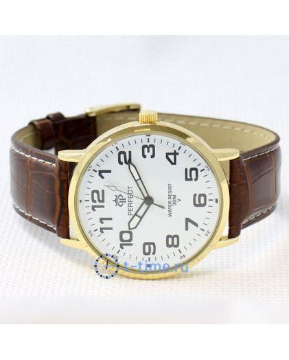 PERFECT 222 W корп-золотой,циф-бел