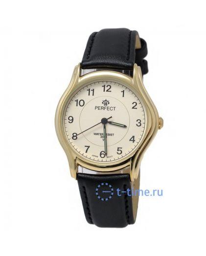 Часы PERFECT 176 C корп-жел,циф-жел