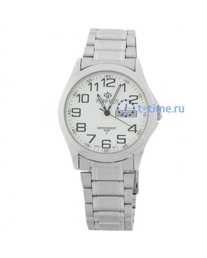 Часы PERFECT 711 B корп-хр,циф-бел