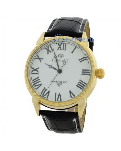 Часы PERFECT 169 C корп-желт,циф-бел
