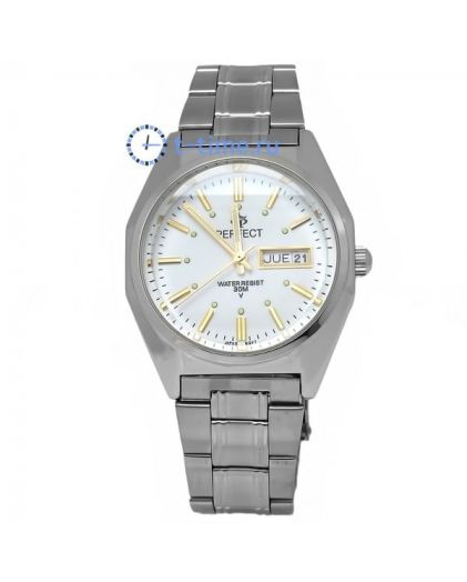 Часы PERFECT 186 B корп-хр,циф-бел