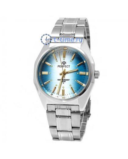 Часы PERFECT 186 P корп-хр,циф-бледно-голуб