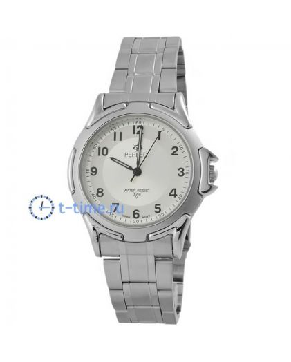 Часы PERFECT 001 P корп-хр,циф-перл