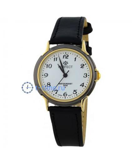 Часы PERFECT 034 C корп-жел,циф-бел