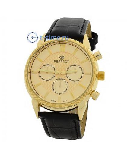 Часы PERFECT 169 W корп-жел,циф-жел