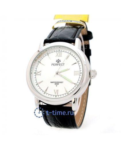 Часы PERFECT 022 C корп-хр,циф-перл