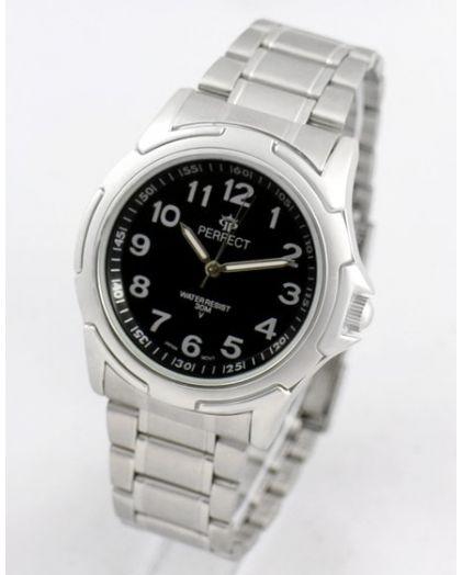 Часы PERFECT 011 P корп-хр,циф-чер