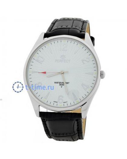 Часы PERFECT 141 C корп-хр,циф-бел
