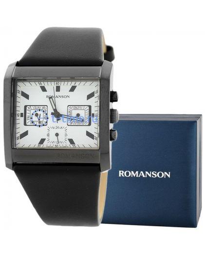 Часы мужские ROMANSON DL 6134S MB (WH)